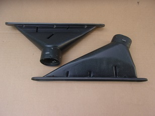 1966 1967 Plymouth Dodge B-body Defroster Vent Ducts