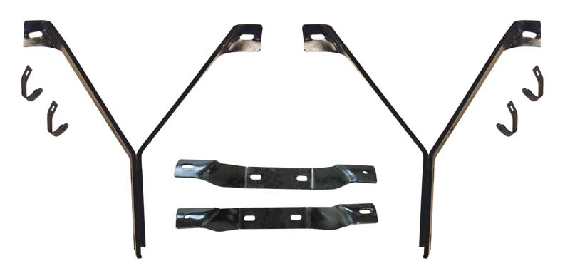 1967-69 Barracuda Front/Rear/Outer Bumper Bracket Set