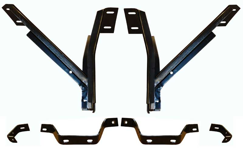1967-70 Valiant 1970-72 Duster/Scamp Front/Rear Bumper Bracket Set