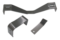 1967-76 A-Body Console Bracket Set - Manual Trans