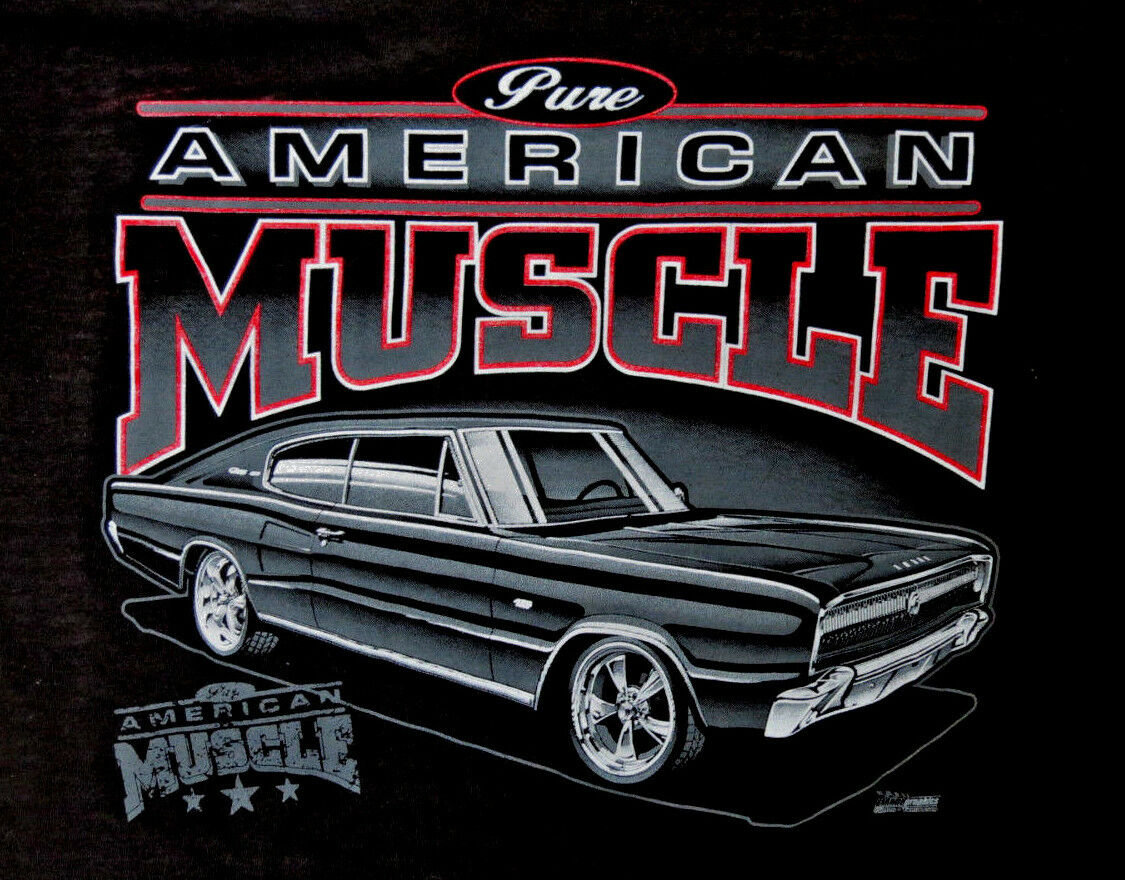 1966 1967 Charger T-Shirt
