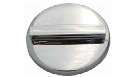 67-71 A BODY CHROME NON VENTED GAS CAP