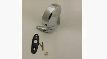 67-76 A, 66-70 B, 65-68 C BODY PASSENGER SIDE CHROME MIRROR, MATES UP WITH DRIVERS SIDE REMOTE MIRROR