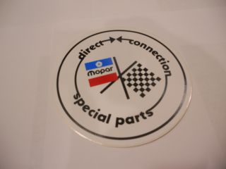 DIRECT CONNECTION DECAL 5-1/2""