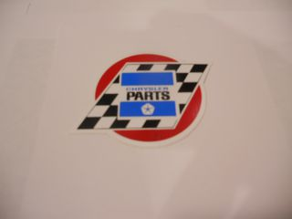 "CHRYSLER PARTS 4"" DECAL"
