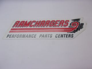 RAMCHARGERS DECAL