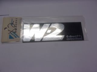 MOPAR PERFORMANCE W-2 DECAL
